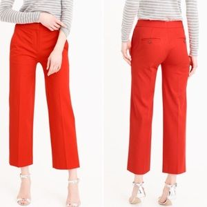 J. Crew Patio Pant in Two Way Stretch Wool